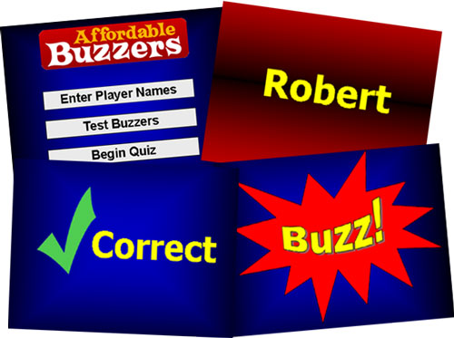 Affordable Buzzers Free Quiz Game screen shots