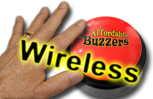 Wireless Big Daddy Buzzer with hand